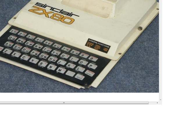 sinclair zx80/zx81