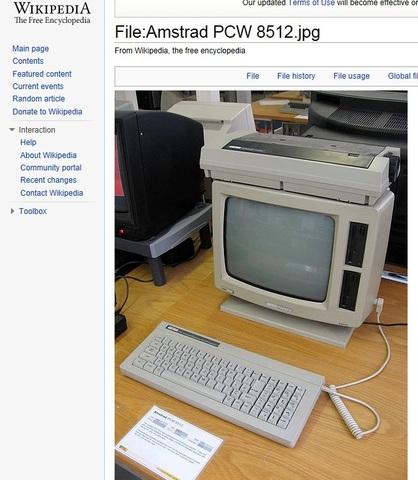 Amstrad PCW By Alan Sugar