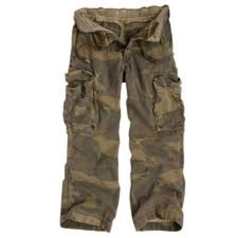 Fashion and entertainment:Cargo pants