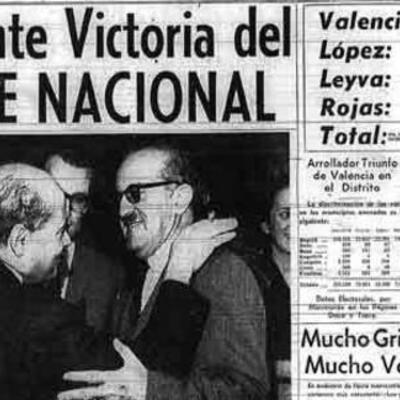 Presidentes del Frente Nacional(Colombia) timeline