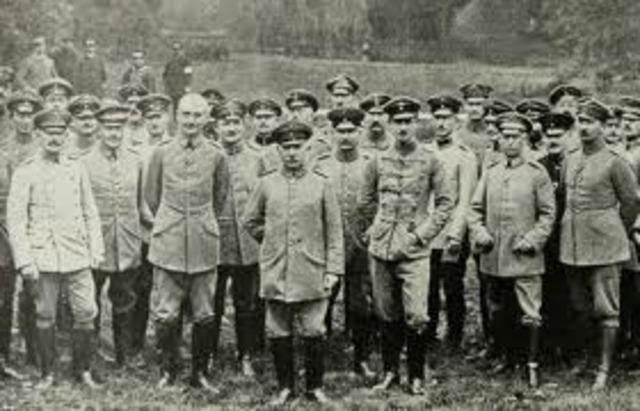 The first World War 1 battle
