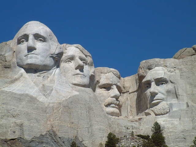World event: Mount Rushmore completed