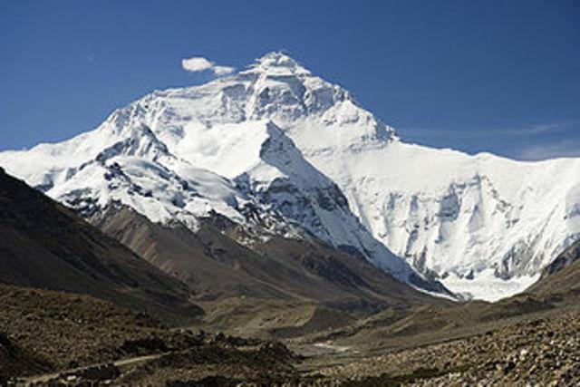 Messner ohne Sauerstoffmaske am Mount Everest