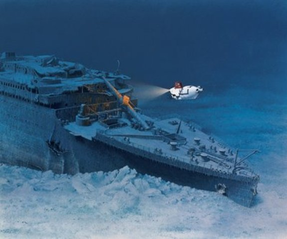 World Eevents : Titanic is found