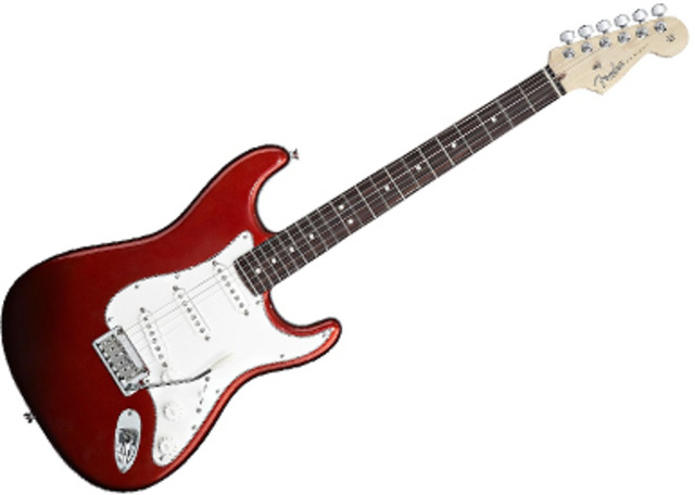 Sports and Mucis: First electric guitarist