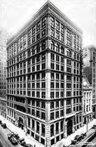 First Modern Skyscraper in Chicago