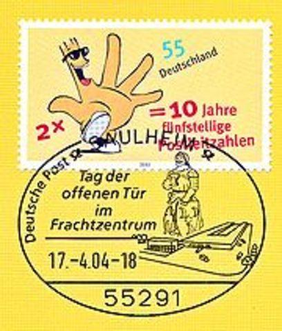 5 stellige Postleitzahlen