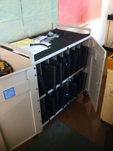 Laptops Arrive from VSB