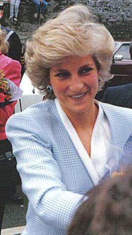 Lady Diana verunglückt tödlich
