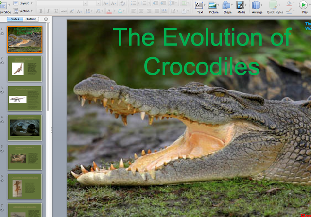 Biology 11 Students start to submit Evolution Projects