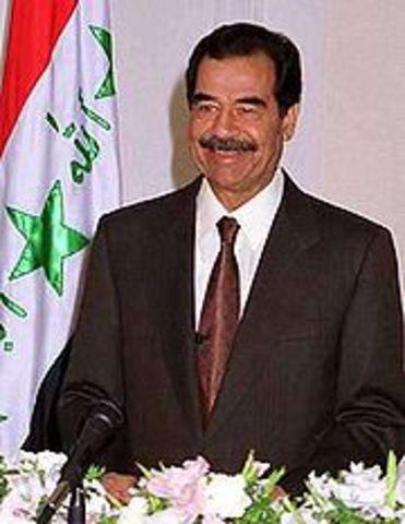 Saddam Hussein wird gestürzt