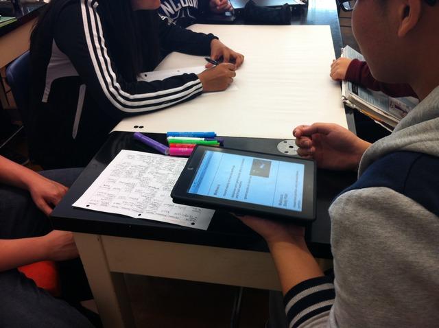 Laptops Exit - iPads Enter