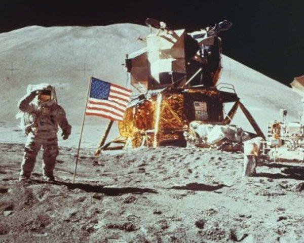 America on the Moon