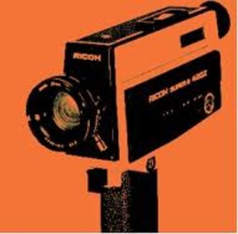 Super 8 home video camera