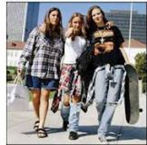 Fashion and Entertainment: Grunge