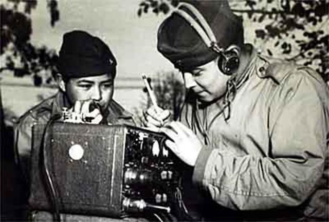 "Navajo ""Code-talkers"":"