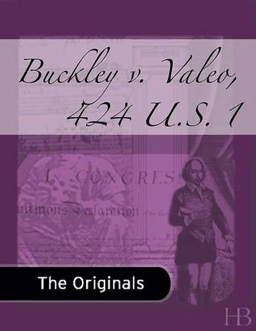 Buckley v. Valeo