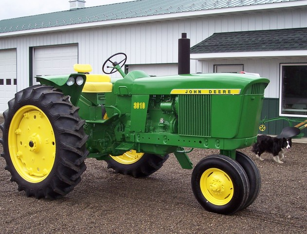 saw the new generation of tractors