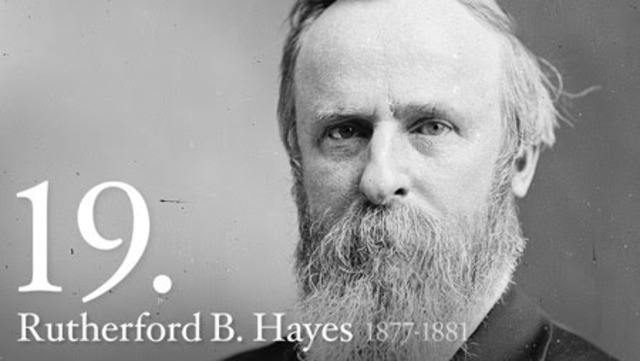 Hayes Becomes President