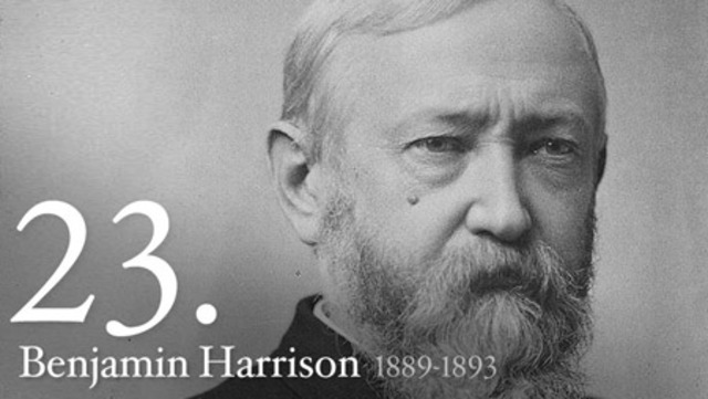 Benjamin Harrison is Elected President