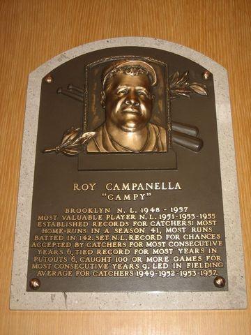 Campanella and the Baseball Hall of Fame