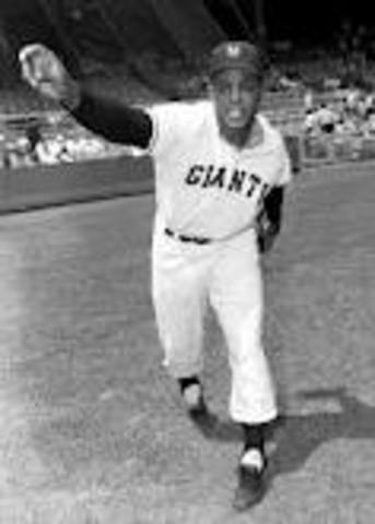 Sports and Music: Willie Mays