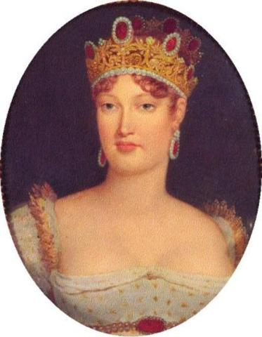 Napoleon divorces Josephine due to her inability to produce a son.