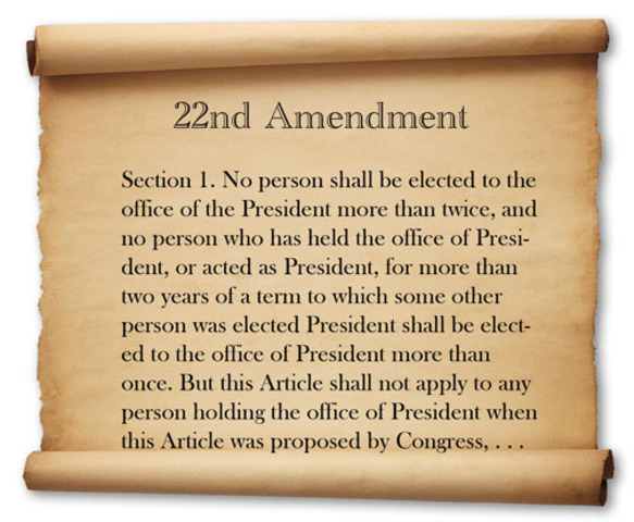 World Events: 22nd Constitutional Ammendment is passed