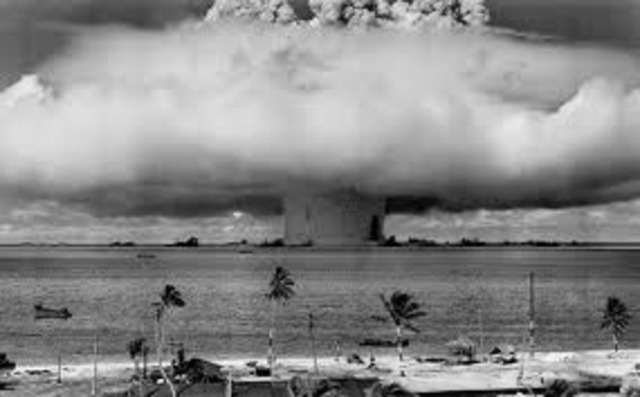 World Events: France Explodes Nuclear Explosives in Ocean