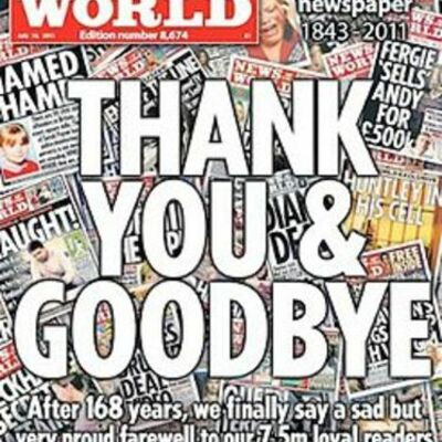 News of the World Phone Hacking Scandal timeline