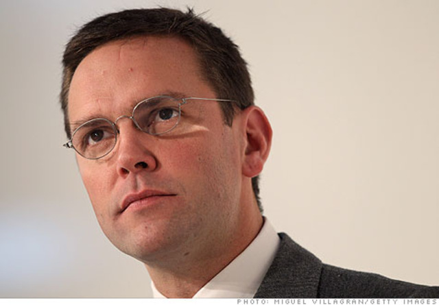 Murdoch jr  takes over News Corp in europe and Asia