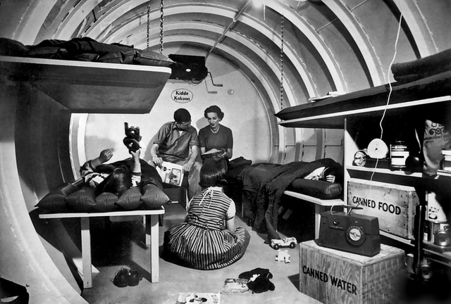 Bomb shelters become popular