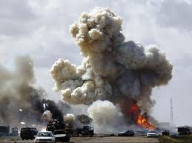 World Events : Bombing in Libya