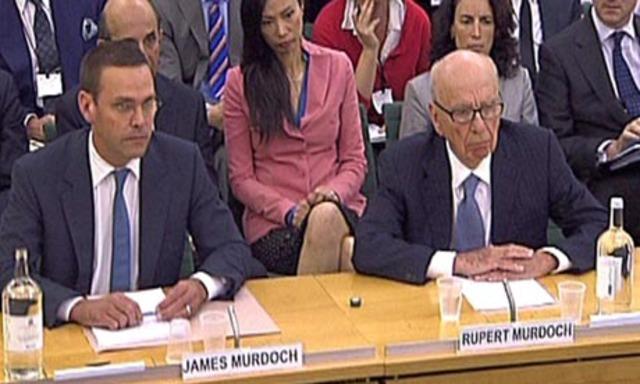 Murdochs face MPs questions