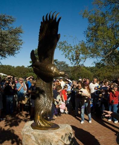 Eagle Plaza dedication