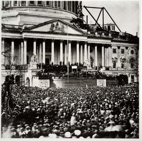 Lincolns Inauguration