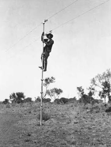 Overland Telegraphing