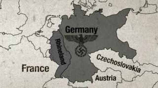 Occupation of the Rhineland