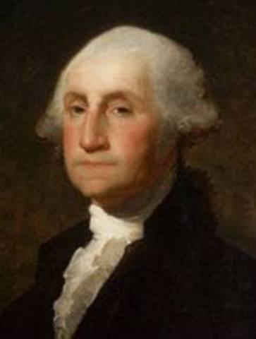 George Washington Resigns