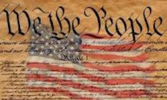 The Constitution Was Ratified