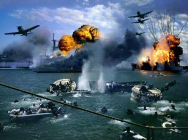 Japan Bombs Pearl Harbor
