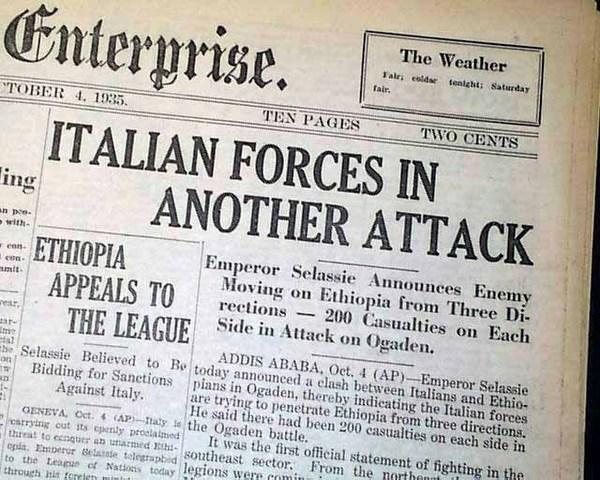 Invasion of Ethiopia