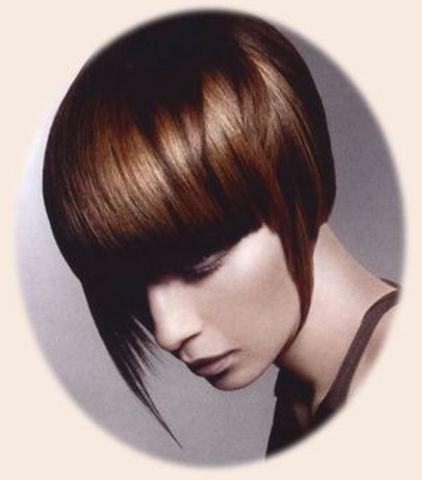 Womens fashion for bobbed hair