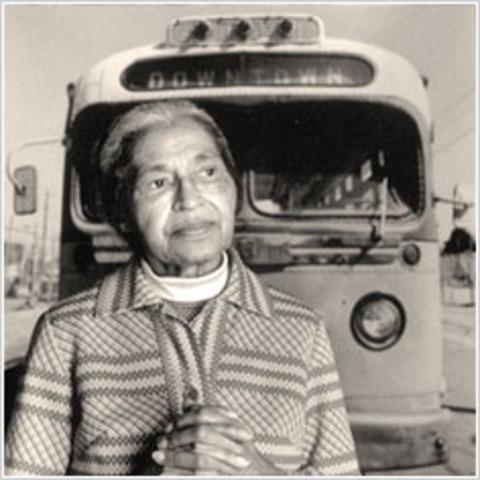 Rosa Parks Sit Down