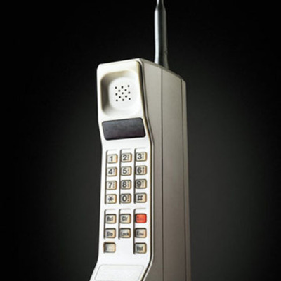 first cell phone timeline
