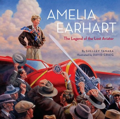Amelia Earhart lost on Pacific