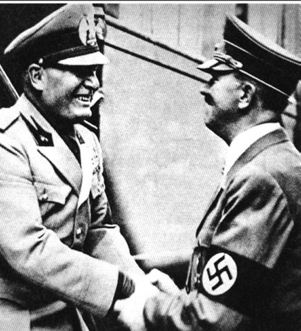 Rome-Berlin Axis Pact is Signed