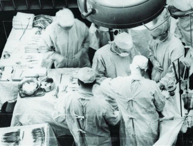 First organ transplant