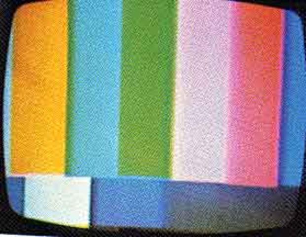 Color T.V introduced