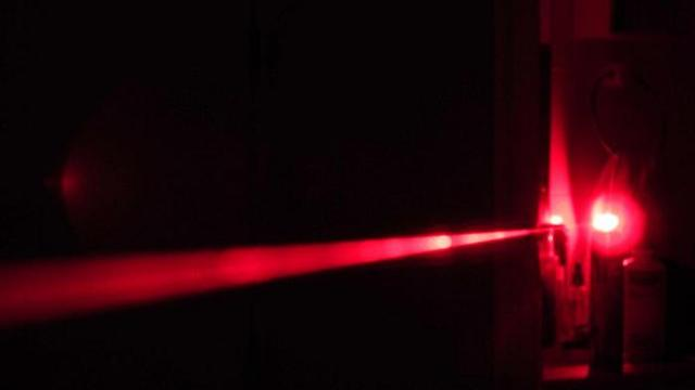 Lasers invented